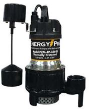 Picture of EnergyPro 1/3 HP, Effluent/Sump Pump, Model PZM-EP-33V-SJ, Automatic