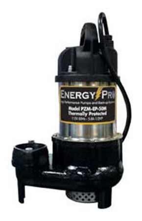 Picture of EnergyPro 1/2 HP, Effluent/Sump Pump, Model PZM-EP-50M, Manual