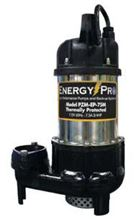 Picture of EnergyPro 3/4 HP, Effluent/Sump Pump, Model PZM-EP-75M, Manual
