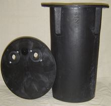 "Picture of 18x30"" Drainage Basin w/Structural Foam, Gas Tight Cover, Model BTO-SFE18x30-GT"