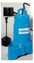 Picture of Barnes 1/2 HP, Effluent/Sump Pump, Model PZM-SP50VF, Automatic