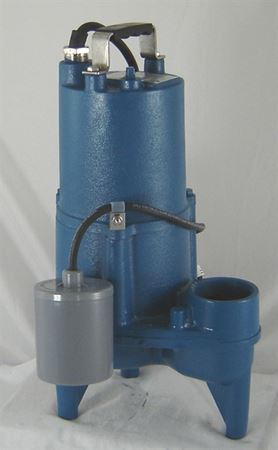 Picture of Barnes Pumps 1/2 HP, Sewage Pump, Model PZM-SEV412-A, Automatic