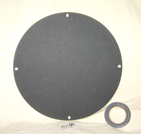 "Picture of Steel Cover for 18"" Inside Diameter Basin, Model BTO-C18WSL"