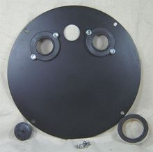 "Picture of Steel Cover for 18"" Inside Diameter Basin, Model BTO-C18SSL"