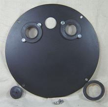 "Picture of Steel Cover for 18"" Inside Diameter Basin, Model BTO-C18SSL"