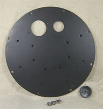 """Picture of Steel Cover for 18"""" I.D. Elevator Basin, Model BTO-C18ELE-DISC"""