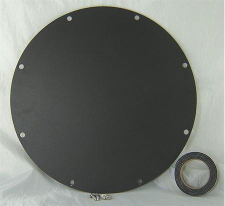 "Picture of Steel Cover for 18"" Inside Diameter Basin, Model BTO-C18WSH"