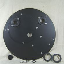 "Picture of Steel Cover for 24"" Inside Diameter Basin, Model BTO-C24SSA"
