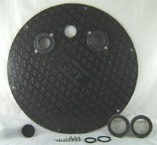 "Picture of Fiberglass Cover for 24"" Inside Diameter Basin, Model BTO-C24FSL"