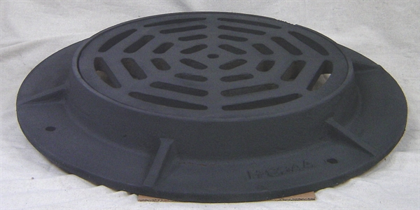 The Sump Pump Store Cast Iron Frame Amp Grate For 36 Inside