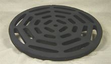 """Picture of Cast Iron Grate Only for 24""""  Frame, Model BZM-24-GRATE"""