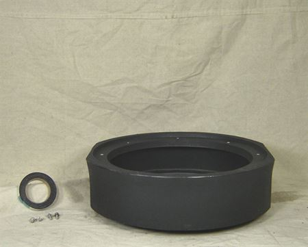 """Picture of 18x06"""" Poly Basin Extension, Model BTO-18x06-EXT"""