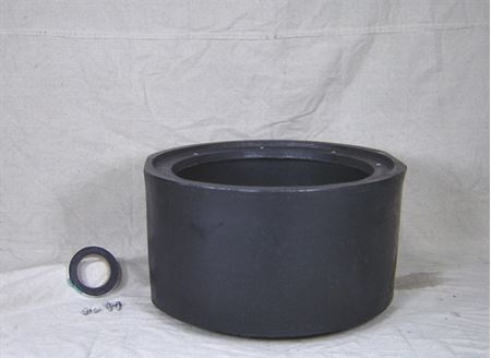 "Picture of 18x12"" Poly Basin Extension, Model BTO-18x12-EXT"
