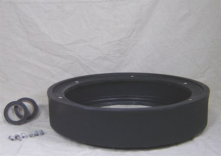 "Picture of 24x06"" Poly Basin Extension, Model BTO-24x06-EXT"