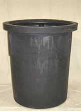 "Picture of 36x36"" Poly Basin, Model BTO-36x36-RTBAS"