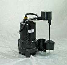 Picture of Cast Iron Proven Effluent/Sump Pump, Model PVL-PRO-33V, Automatic