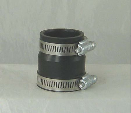 "Picture of 1-1/4""x 1-1/2"" Rubber Coupler, Model AJA-CVHC-12"