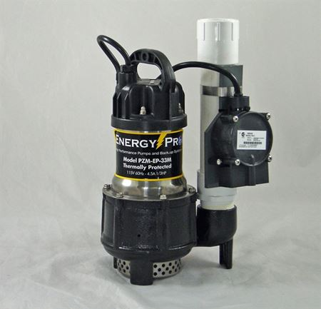 Picture of EnergyPro 1/3 HP, Effluent/Sump Pump, Model PZM-EP-33M-RS5, Automatic