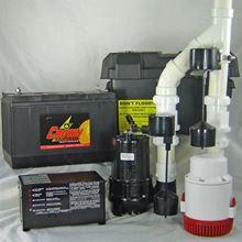 Picture of Dual AC & 12 Volt DC Pump System, Model PVL-PKG-PRO-12V