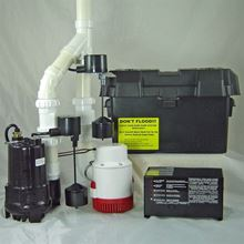 Picture of Dual AC & 12 Volt DC Pump System, Model PVL-PKG-PRO12V2