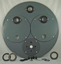 "Picture of PVC Cover for 30"" Inside Diameter Basin, Model BTO-C30DSA4-PVC"