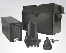 Picture of Single Pump, AC & Battery Back-up System, Model PION-30ACI