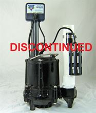 Picture of Energy Saving Effluent/Sump Pump Model PVL-ES-DFC1, 1/3HP, Automatic
