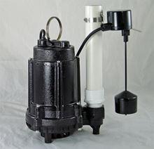Picture of Effluent/Sump Pump, Model PVL-EC-AVF, 1/3HP, Automatic
