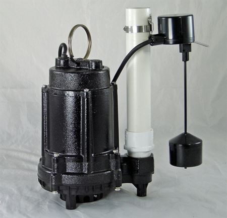 Picture of Effluent/Sump Pump, Model PVL-EC-AVF, 1/3HP, Automatic