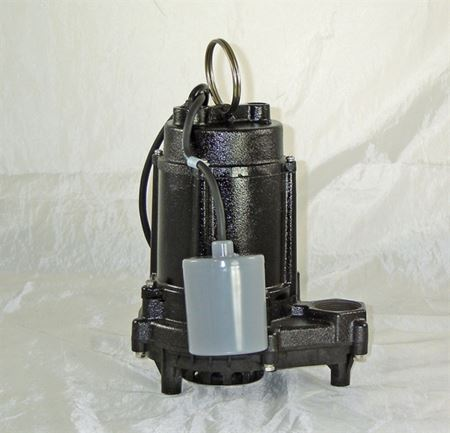 Picture of Effluent/Sump Pump, Model PVL-EC-AFS, 1/3 HP, Automatic