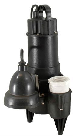 Picture of Ion StormPro 1/2 HP Sewage Pump Model PION-X-ONEi, Automatic