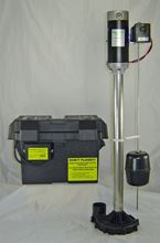 Picture of Zoeller, Battery Back-up Upright Sump Pump, Model PZO-Z-36