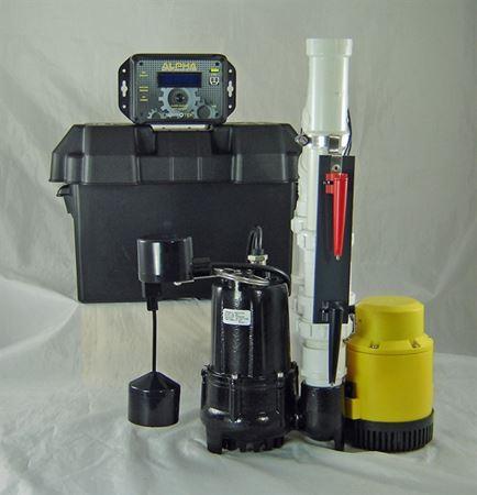 Picture of Dual AC & 12 Volt DC Pump System, Model PVL-ALP-PRO12V2