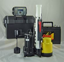 Picture of Dual AC & 12 Volt DC Pump System, Model PVL-ALP-PRO-12V