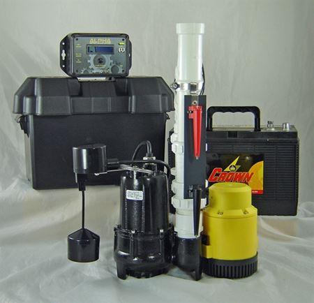 Picture of Dual AC & 12 Volt DC Pump System, Model PVL-ALP-PRO-12V
