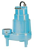 Picture of Little Giant 1-1/2 HP, 3 Phase, Sewage Pump Model PLG-18S-CIM-3PH