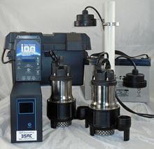 Picture of Dual Pump, AC & Battery Back-up System, Model PION-35ACI-DLX