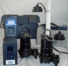 Picture of Dual Pump, AC & Batttery Back-up System, Model PION-30ACI-DLX