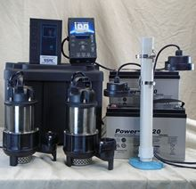 Picture of Dual Pump, AC & Battery Back-up System, Model PION-55ACI-DLX