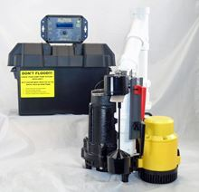 Picture of Dual AC & 12 Volt DC Pump System, Model PK-ALP-AVF12V2