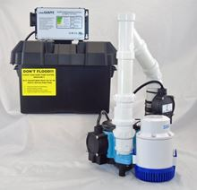 Picture of Submersible AC Pirmary & 12 Volt DC Battery Back-Up Packaged System, Model PK-12HF6CIA12V2