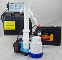 Picture of Submersible AC Pirmary & 12 Volt DC Battery Back-Up Packaged System, Model PK-12HF6CIA-12V