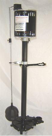 Picture of JMI Pump Systems, Upright Sump Pump,     Model PJM-WFC-50, 1/2 HP